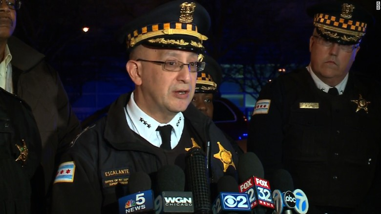 3 Chicago officers shot; injuries not life-threatening