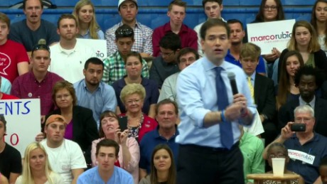 Rubio: 'embarrassed' by his personal attack on Trump