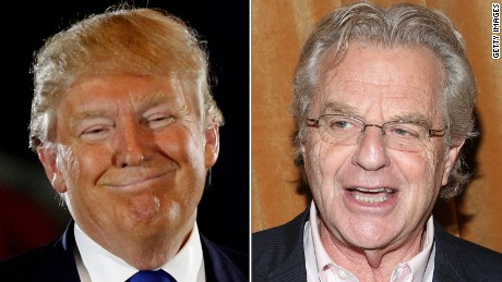 Jerry Springer: Donald Trump won't be President