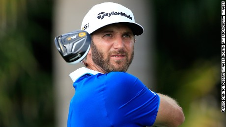 American Dustin Johnson was the longest hitter on the PGA Tour in 2015.