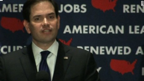 Marco Rubio: Not God's plan that I be president in 2016