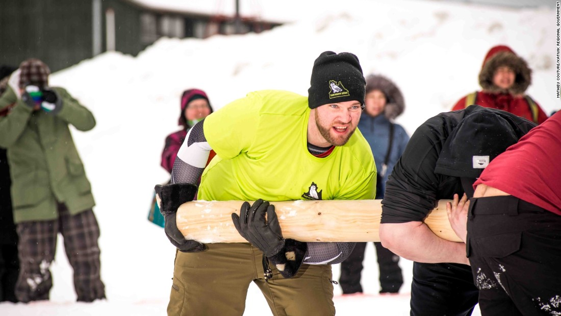 The pole push -- in which two teams try their hardest to push the same wooden pole in opposing directions -- is one of the best-attended events of the Games.