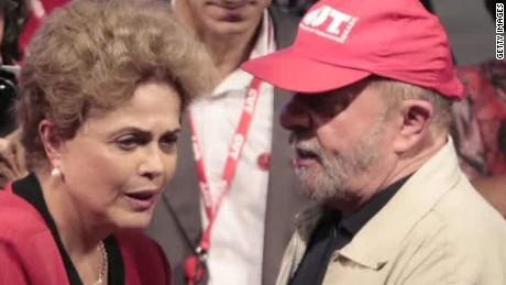 Brazilians protest Lula da Silva's appointment