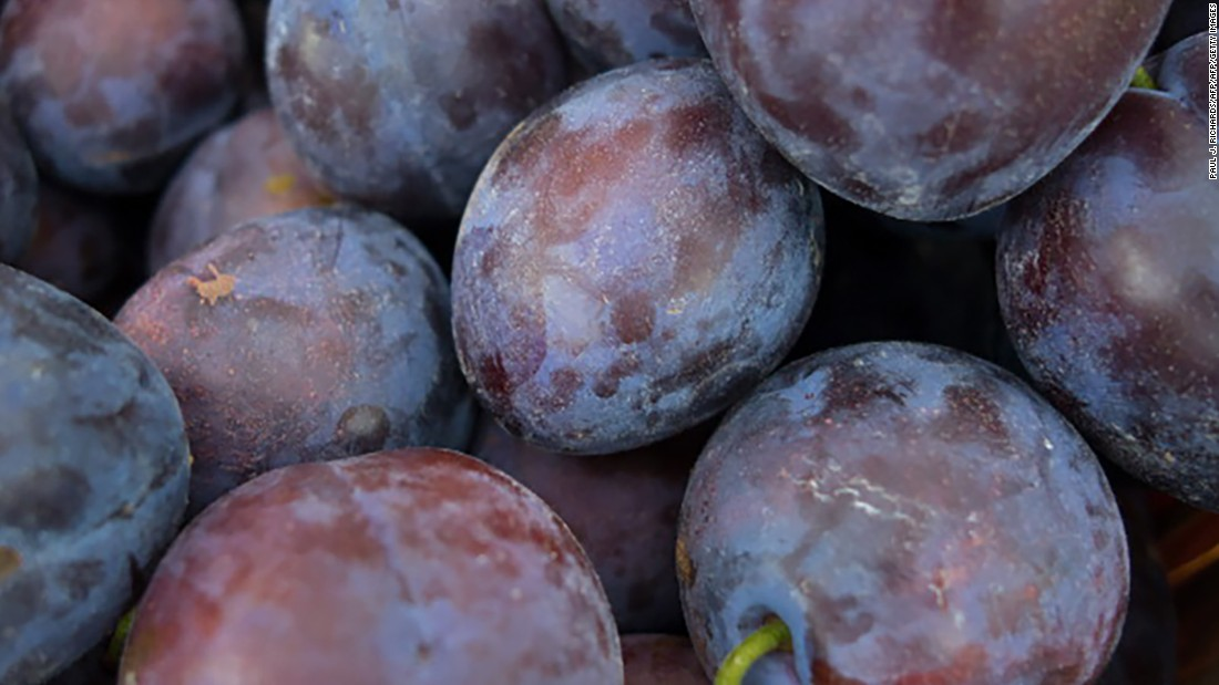 Plums are not only a good source of antioxidants -- they are known for their laxative properties, too.<br />