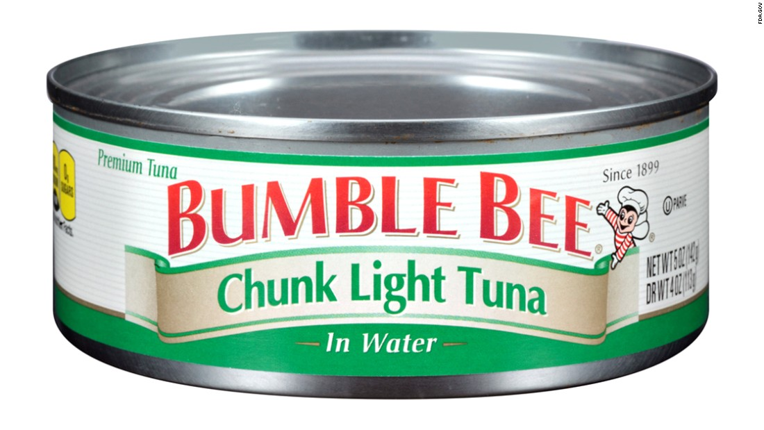 "Bumble Bee Foods, Tri-Union Seafoods and H-E-B have <a href=""http://www.cnn.com/2016/03/17/health/bumble-bee-foods-tuna-tri-union-seafoods/index.html"" target=""_blank"">voluntarily recalled</a> canned chunk light tuna because of possible health risks, the Food and Drug Administration said in mid-March."