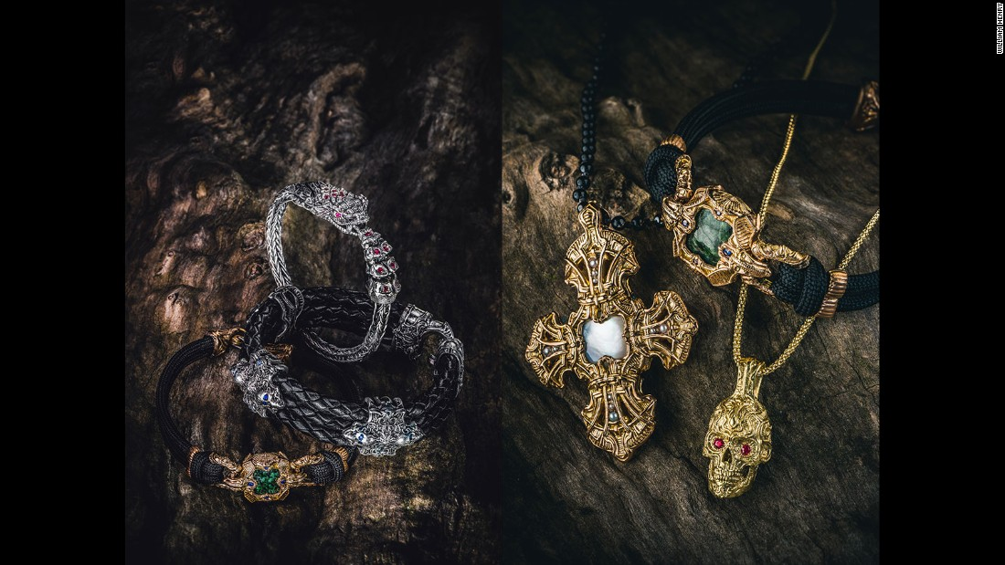 Soon the company expanded production to include necklaces, bracelets, pens and other accessories.