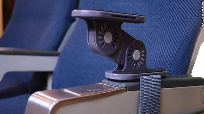Could this device end armrest wrestling? Perhaps, but it might spark new arguments over who goes top and who goes bottom.