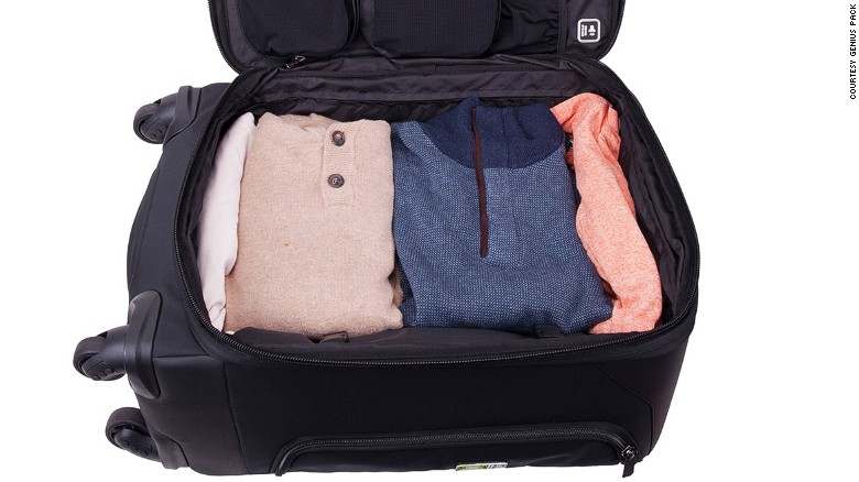This case packs your clothes better than you do.