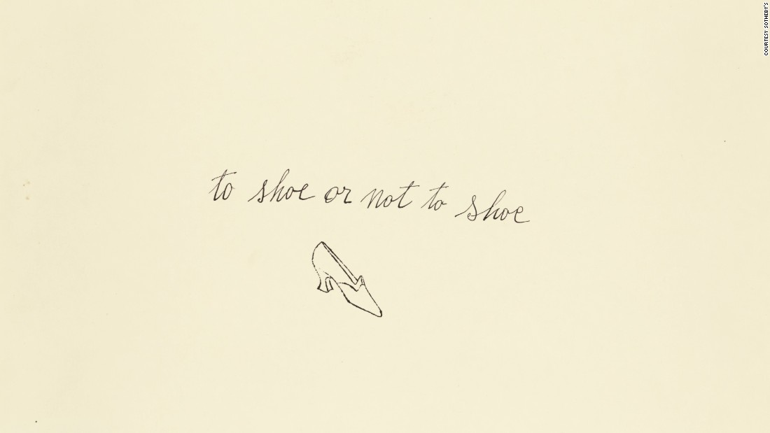 <em>to shoe or not to shoe</em>
