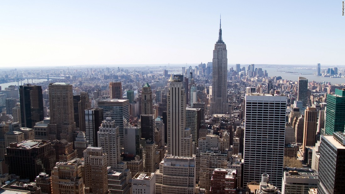 New York, the top United States destination on the global list, rose two spots to take ninth place.
