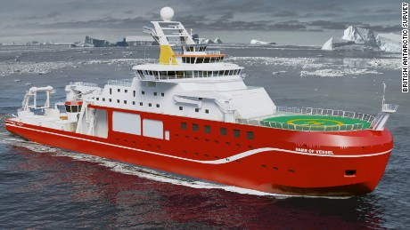 'Boaty McBoatface' could be name for UK's $300 million polar research ship