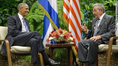 President Obama visits Cuba