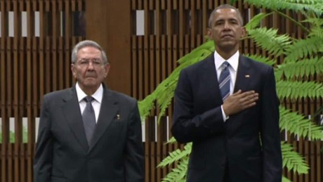 Cuba celebrates Barack Obama's historic visit