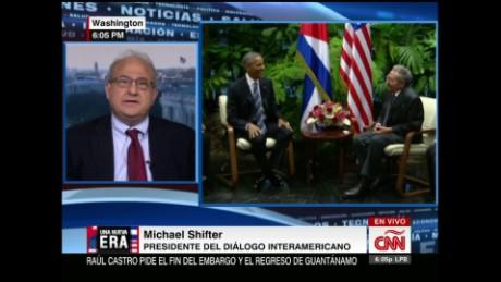exp cnne michael shifter on obama cuba_00002001