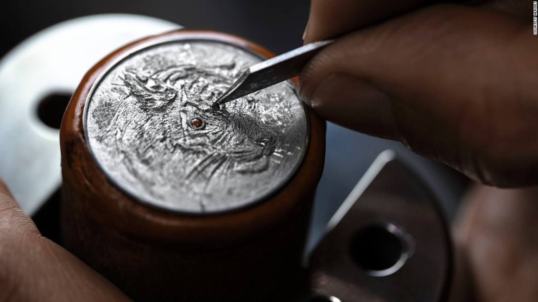 From egg shells to tiny sculptures: exquisite watches at Baselworld 2016