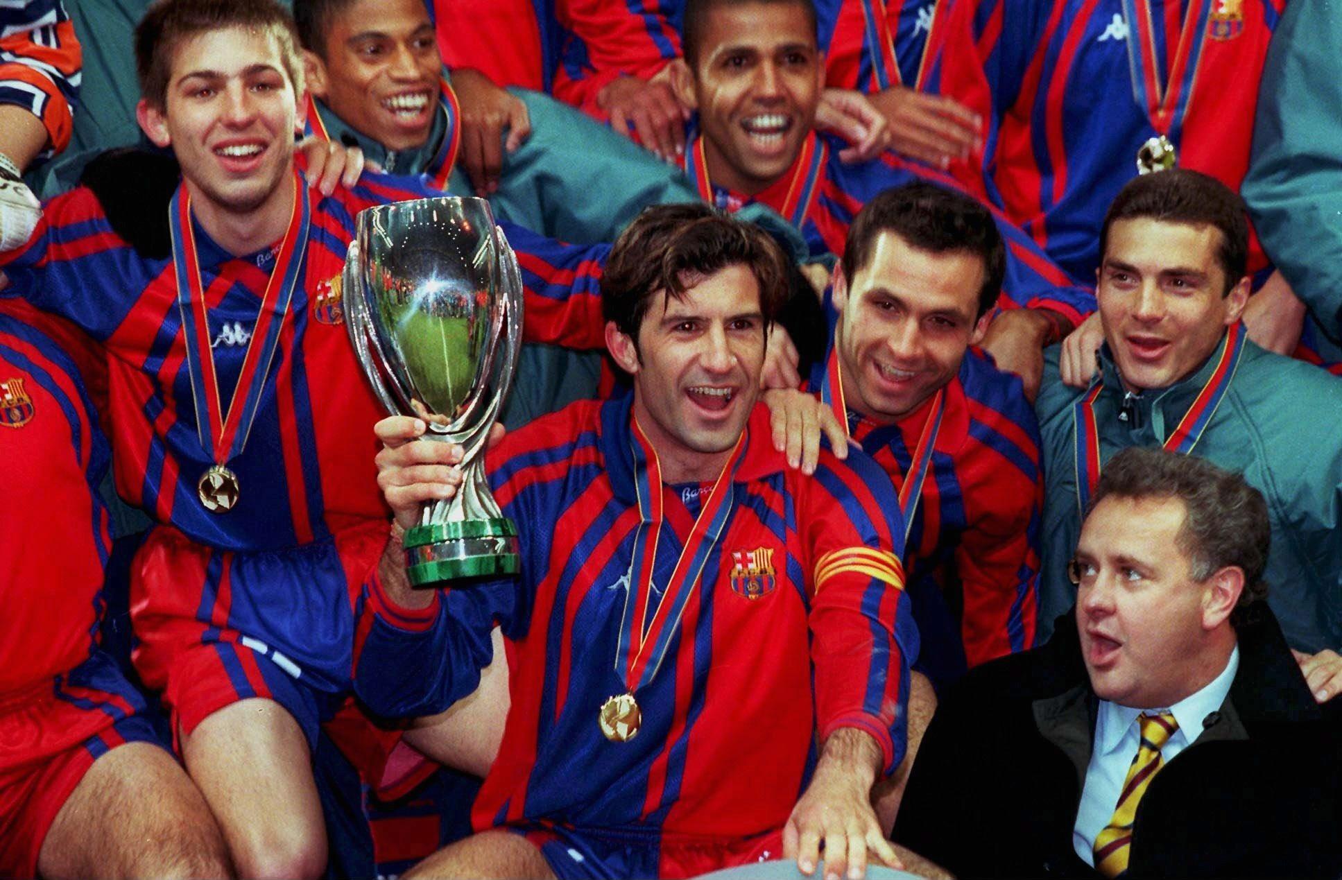Barcelona Vs Real Madrid Carles Puyol Raul