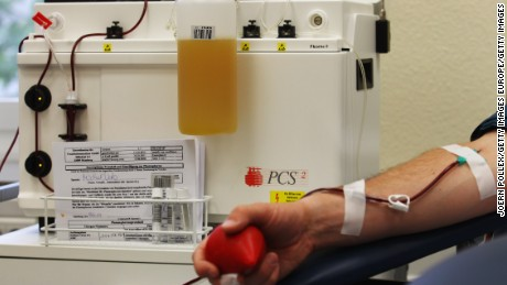 Blood plasma is the yellow liquid that holds blood cells in suspension.