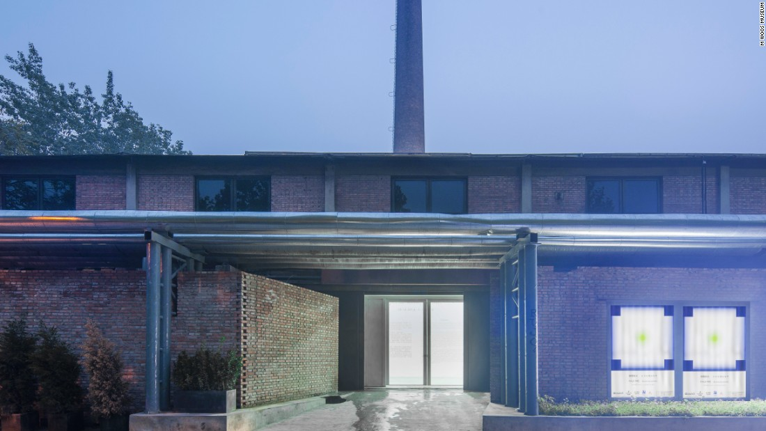 The M WOODS Museum in Beijing's 798 Art District was founded by young local collectors Lin Han and Wanwan Lei and houses mainly contemporary art.