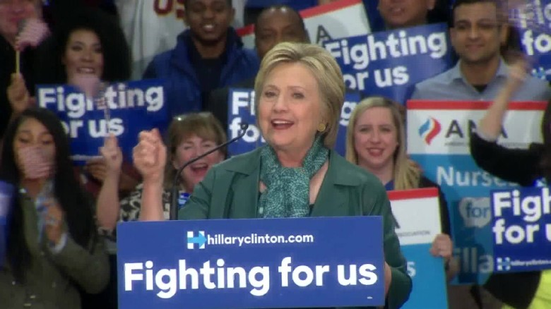 Hillary Clinton Arizona win primary speech sot  _00001913