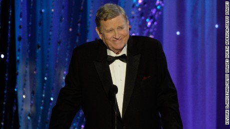 LOS ANGELES, CA - JANUARY 30:  SAG-AFTRA President Ken Howard speaks onstage during the 22nd Annual Screen Actors Guild Awards at The Shrine Auditorium on January 30, 2016 in Los Angeles, California.  (Photo by Kevork Djansezian/Getty Images)