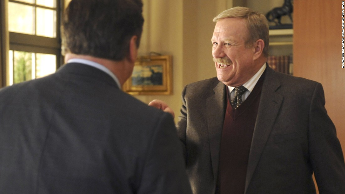 "<a href=""http://www.cnn.com/2016/03/23/entertainment/ken-howard-dead-obit-feat/index.html"" target=""_blank"">Ken Howard</a>, seen here as Hank Hooper on ""30 Rock,"" died March 23. He was 71. Howard also starred in ""The White Shadow"" and appeared on many other TV series."