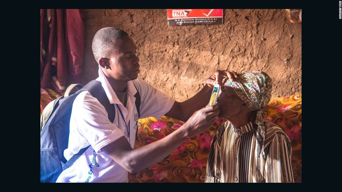 Cataracts and refractive errors are the two most common problems in poorer countries notes Bastawrous, who has trained local examiners in remote areas of Kenya on the new technology.