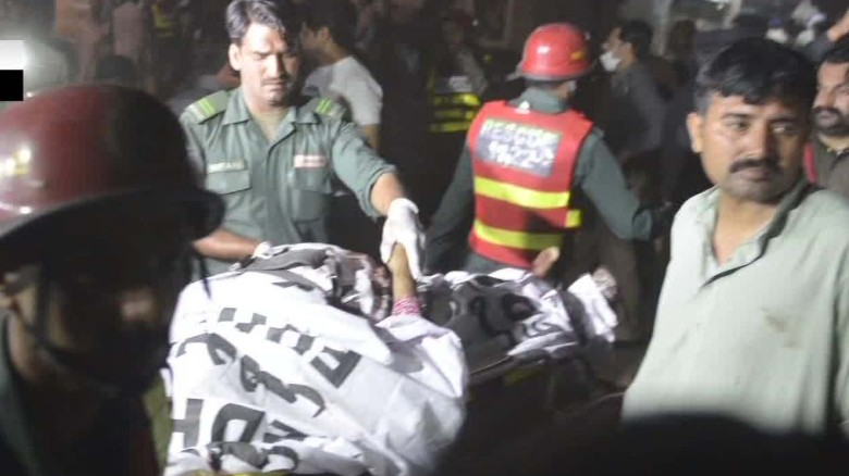 Deadly bombing in Lahore targeted Christians