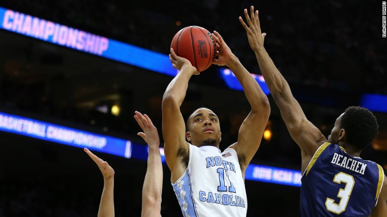 Brice Johnson leads the No. 1 North Carolina Tar Heels in scoring with 17.1 points per game.