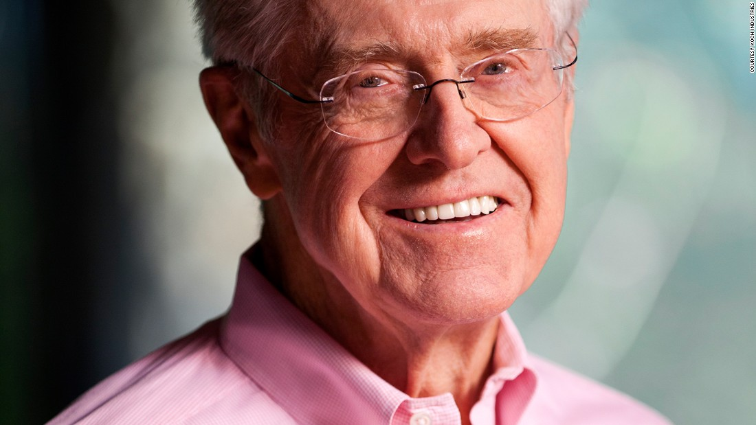 Charles koch 39 possible 39 clinton could be better than gop for David charles koch