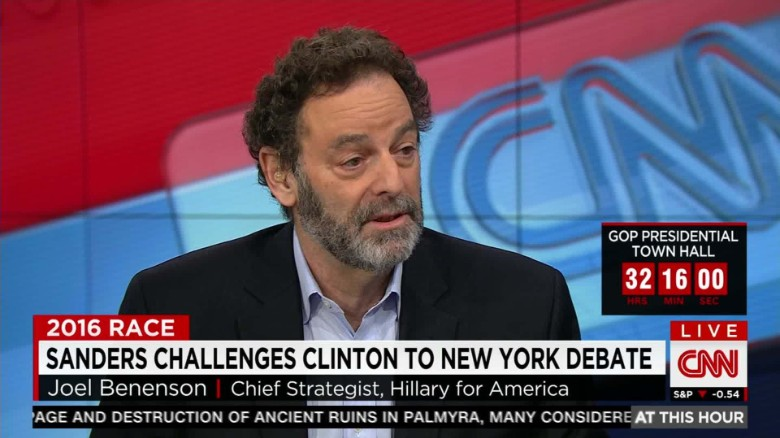 Clinton strategist on a New York debate: 'Let's see'
