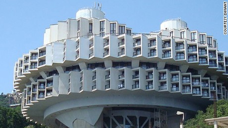 Kurpaty Sanatorium in Yalta, Crimea.