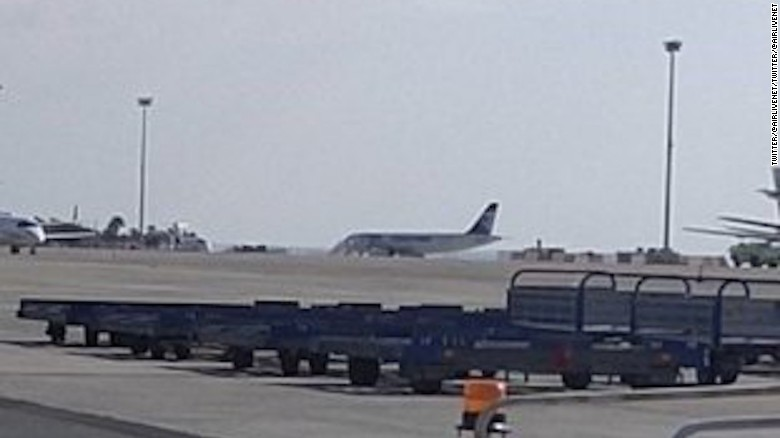 Hijacked Egypt Air flight