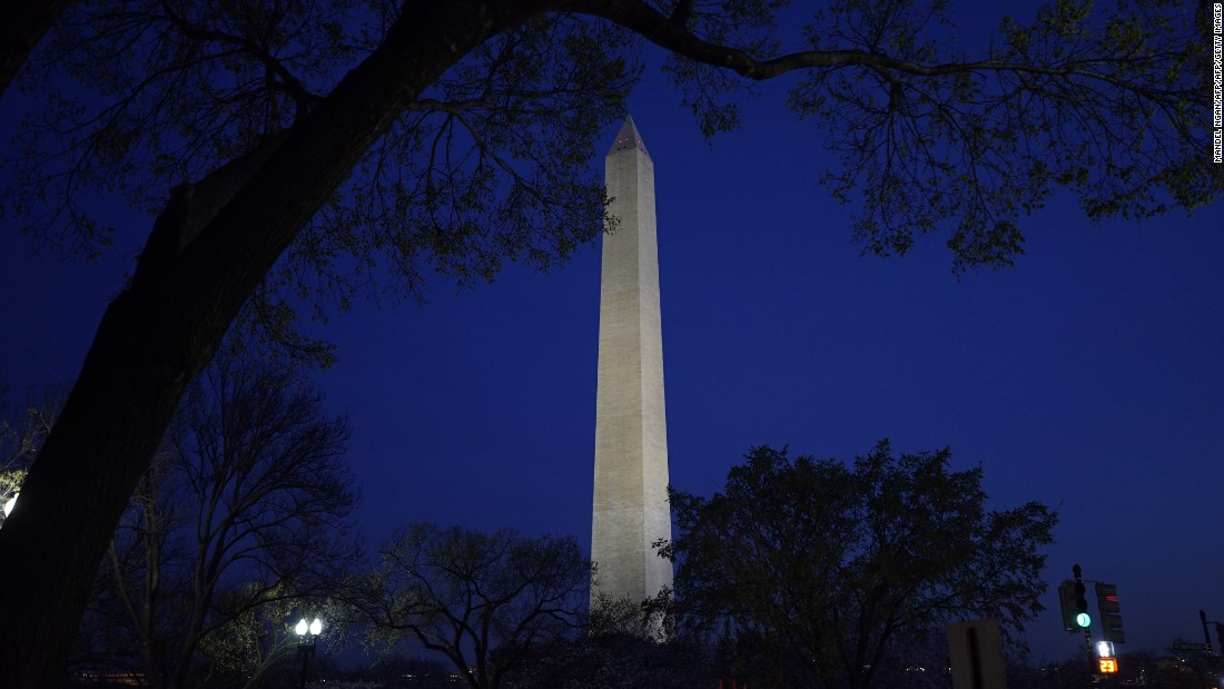 An elevator got stuck inside the Washington Monument on March 29 and again on April 1, 2016, causing the attraction to close twice for repairs.