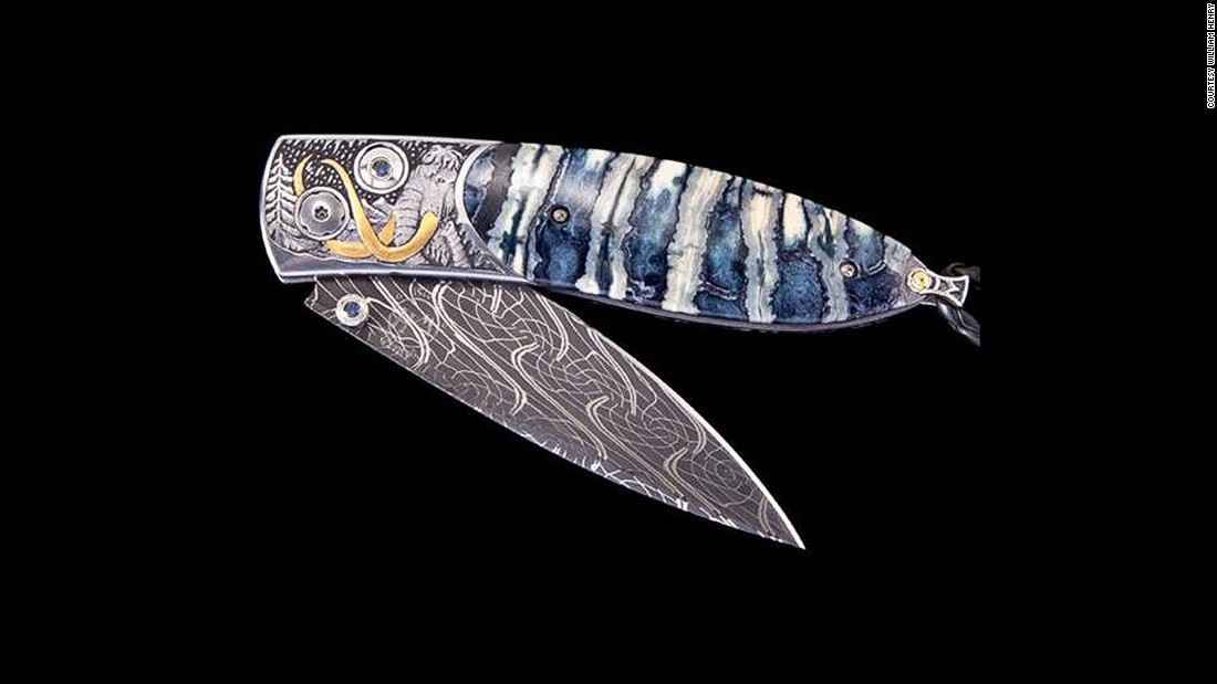 William Henry initially began using these strange materials to make very niche market products: hand-crafted luxury pocket knives.
