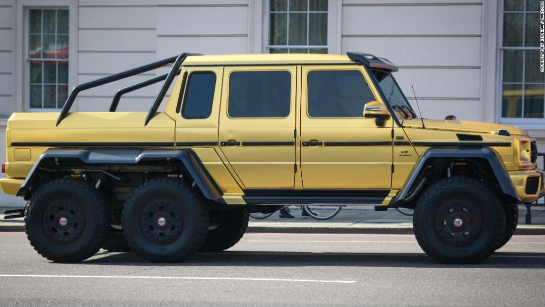 Super Rich Saudi S Gold Cars Hit London Cnn Com