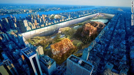 Rain makers and sunken Central Park, are these the skylines of the future?
