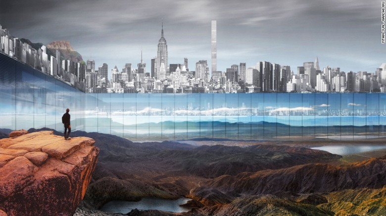 'New York Horizon' by Yitan Sun and Jianshi Wu