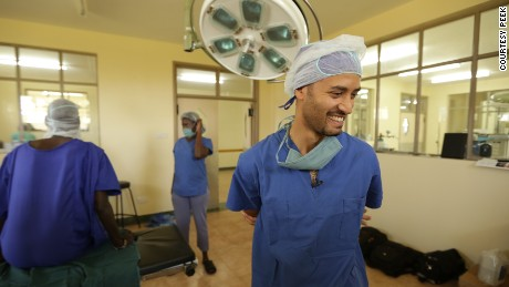 Dr. Andrew Batswrous spearheaded an app to help eyes