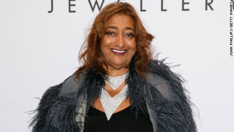 Zaha Hadid: an inspiration and role model for female architects