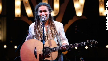 Singer Jason Castro performs at the Donate Life Concert in 2009.
