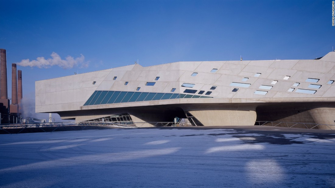 This interactive science center that resembles a space ship was a landmark project for the country.