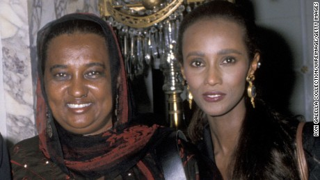 Iman loses her mother months after husband David Bowie