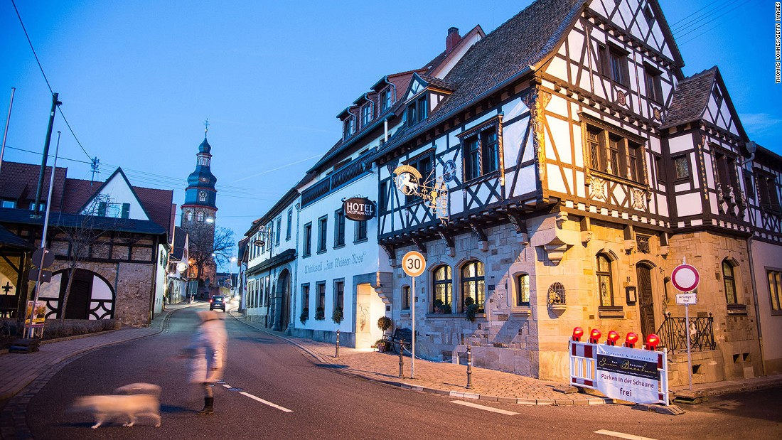 """Kallstadt is Trump's German ancestral home. However, when Deutsche Welle contacted Trump's distant relations they elicited little more on the record than, """"<a href=""""http://www.dw.com/en/what-trumps-ancestral-village-in-germany-has-to-say-about-him/a-19088834"""" target=""""_blank"""">Hopefully this hype will ease up soon</a>."""""""