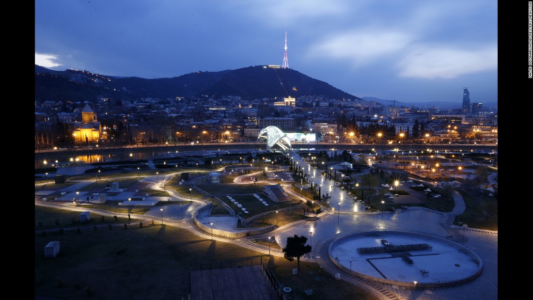Tbilisi's newest attractions are in the heart of the city's Old Town. Rike Park opened in 2010 and is dominated by the futuristic Concert Hall and Exhibition Center, designed by Massimiliano Fuksas.
