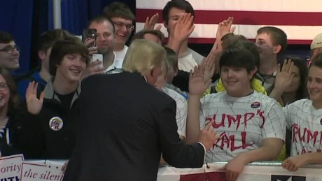 Donald Trump speaks to kids about drugs sot_00004311
