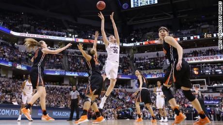 NCAA championship: UConn wins unprecedented 4th consecutive title