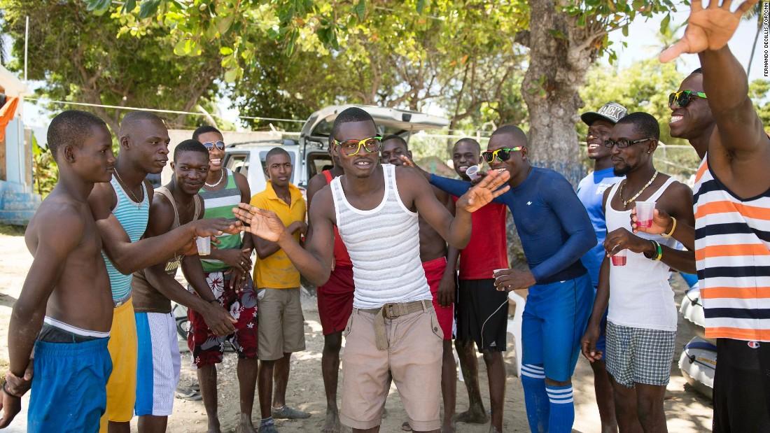 haiti men