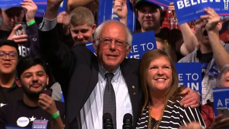 Bernie Sanders: This campaign is for the people