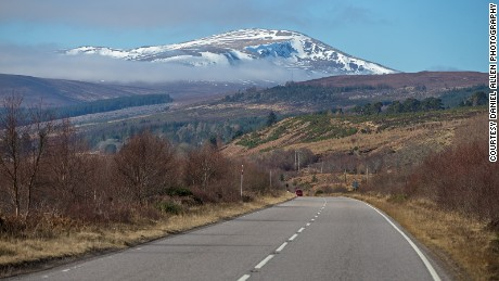 With towns and villages few and far between, the coastline of northern Scotland is one of the most unspoiled areas of Europe. Roads here are empty of traffic and typically offer gorgeous views, although they are often single lane and require the use of passing places from time to time.