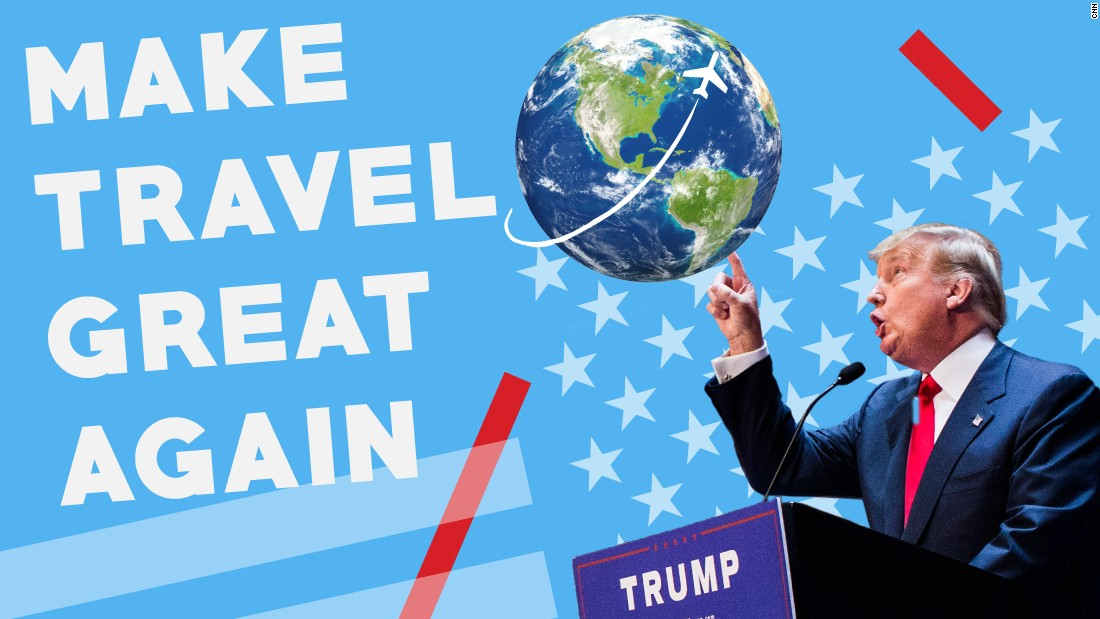 Donald Trump is truly a man of the world , even if the world doesn't ...